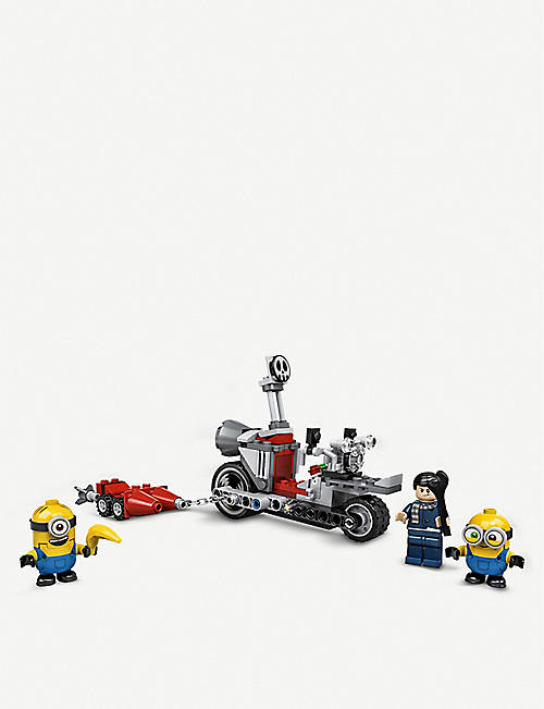 LEGO LEGO? 75549 Minions the Rise of Gru Unstoppable Bike Chase set