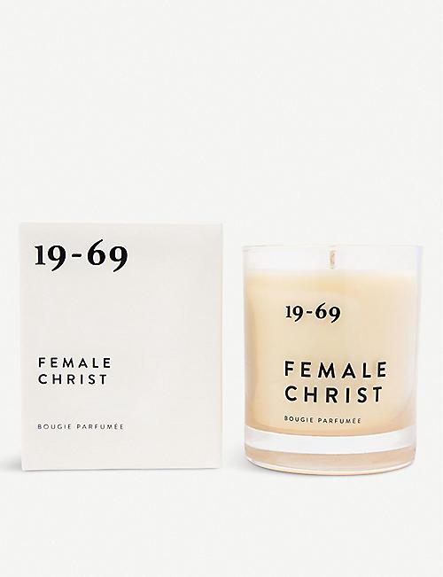 19-69 女性基督蜡烛 200ml