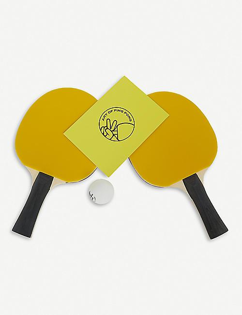 THE ART OF PING PONG Selfridges 乒乓球桨一套两个