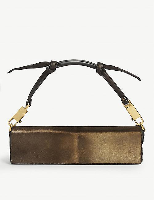 RICK OWENS Demi clutch bag