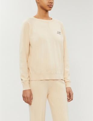 Jerry logo-embroidered cotton-blend sweatshirt