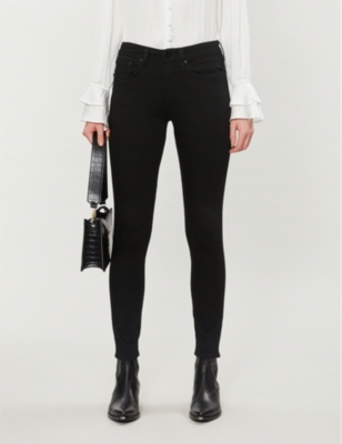 Cate skinny mid-rise jeans