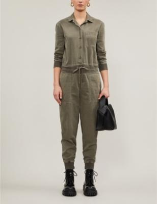 Mixed Media cotton jumpsuit