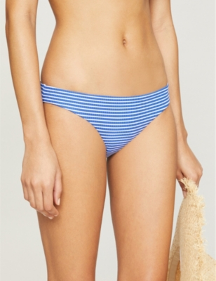 Go Overboard striped hipster bikini bottoms