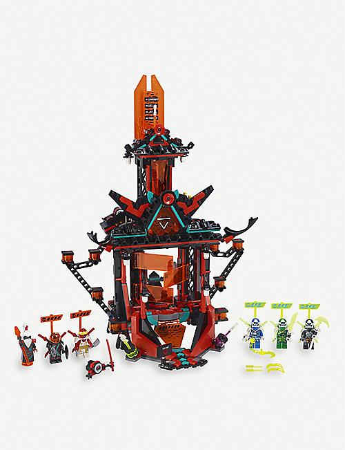 LEGOLEGO忍者帝国疯狂神殿设置9+年