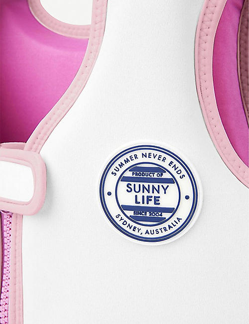 SUNNYLIFE Unicorn float vest 2-4 years