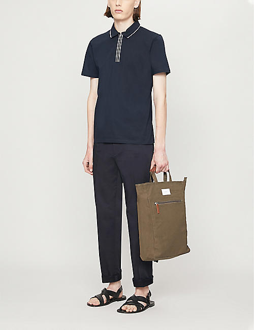 REISS Nathan slim-fit cotton polo shirt