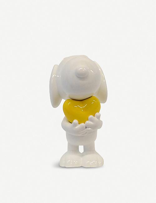 勒布隆·德莱尼·史努比心脏树脂雕像 27cm
