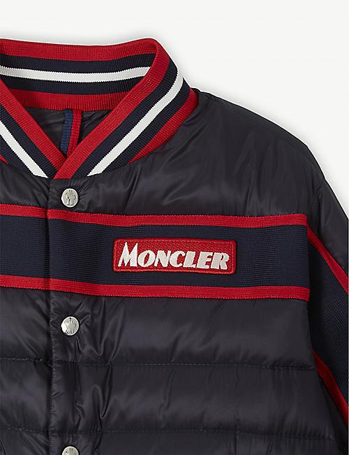 MONCLER Tubuai nylon bomber jacket 8-14 years