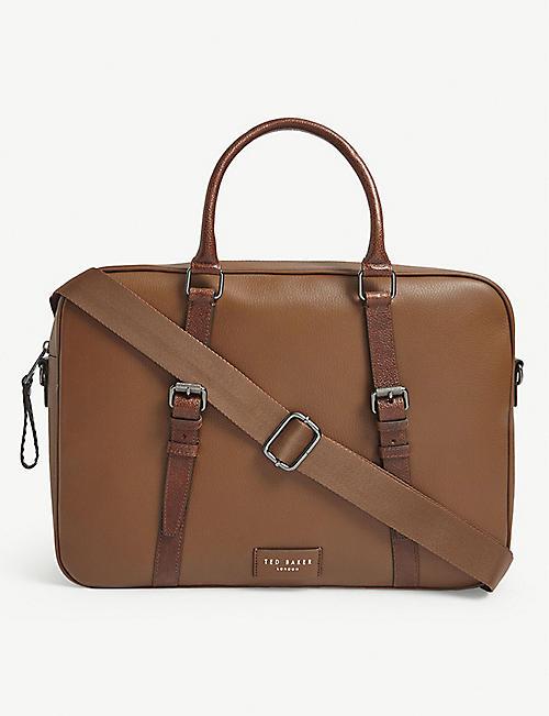 TED BAKER胡斯顿皮革文件袋