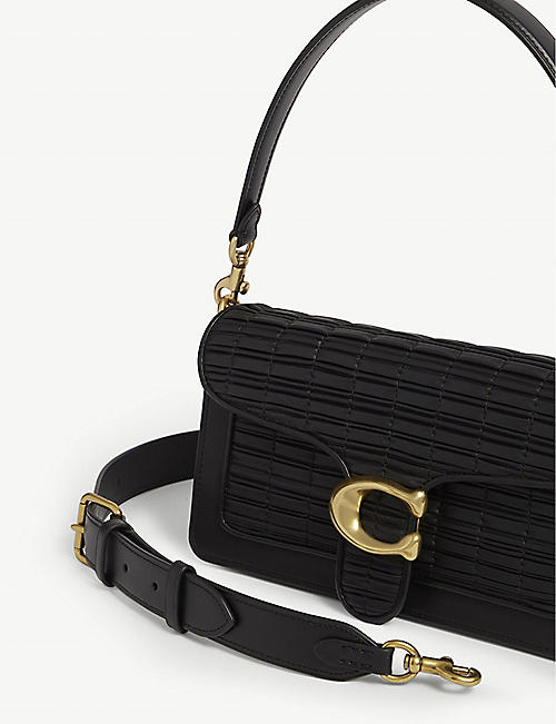 COACH Tabby 26 pleated leather shoulder bag