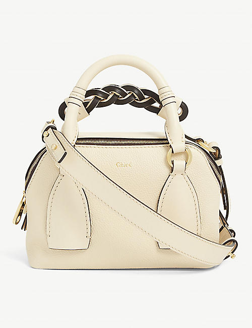 CHLOE Daria small leather crossbody bag