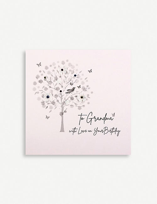 FIVE DOLLAR SHAKE To Grandma with Love birthday greetings card