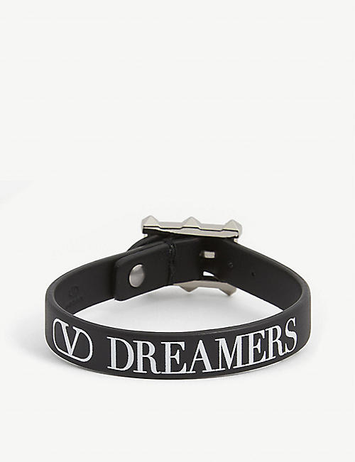 VALENTINO Dreamers leather bracelet