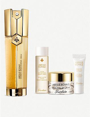 GUERLAIN: Abeille Royale Double R Renew and Repair skincare set