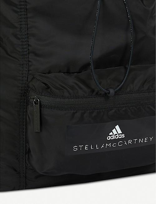 ADIDAS BY STELLA MCCARTNEY 徽标打印软壳面料背包