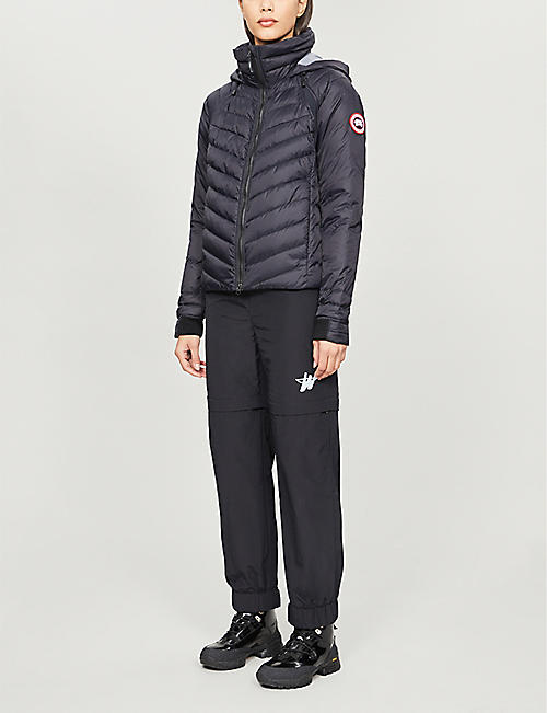 CANADA GOOSE HyBridge Base padded shell-down jacket