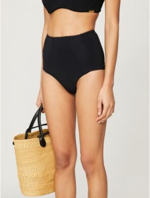 Conspire high-waisted bikini bottoms