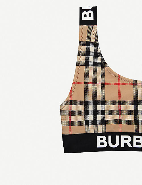 BURBERRY Liana Vintage check pattern bikini 10-14 years