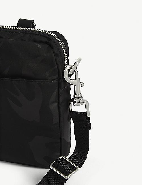 MCQ ALEXANDER MCQUEEN Crossbody swallow print bag