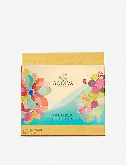 GODIVA Spring Gold Collection assorted chocolates box of 24