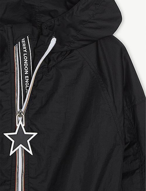 BURBERRY Thorley logo nylon jacket 3-14 years