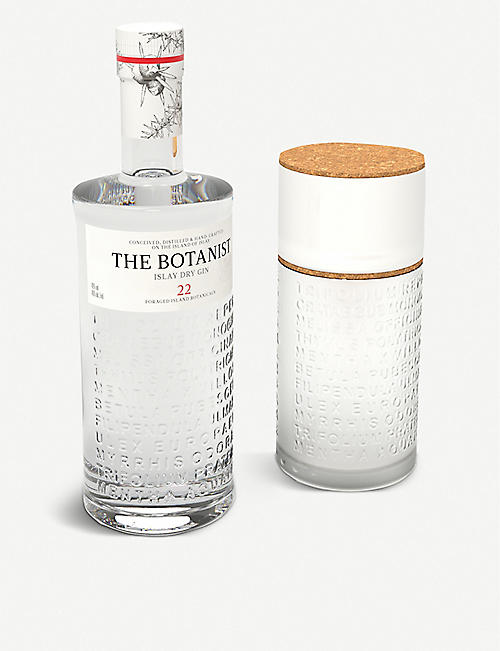 GIN The Botanist gin and herb planter set 700ml