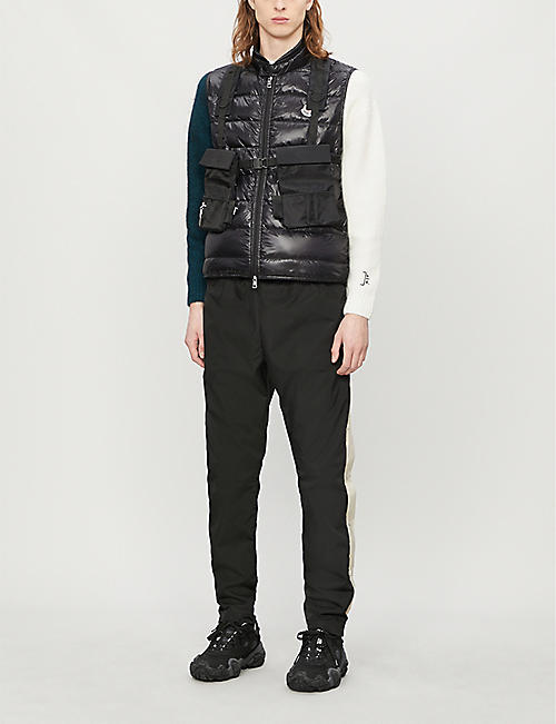 MONCLER Quilted shell-down gilet