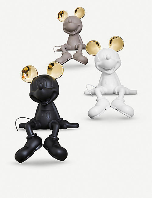 LEBLON DELIENNE Mickey by Kelly Take 2 chrome-trim figure 48cm