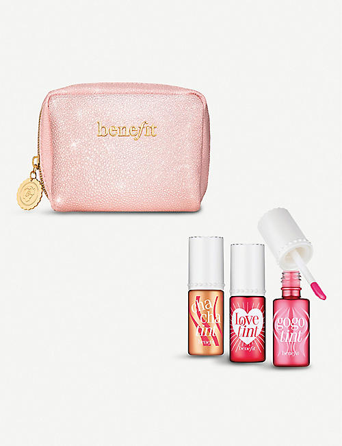 BENEFIT Love, Lip and Tint set of three