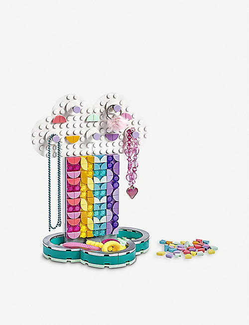 LEGO LEGO? DOTS Rainbow Jewellery Stand set