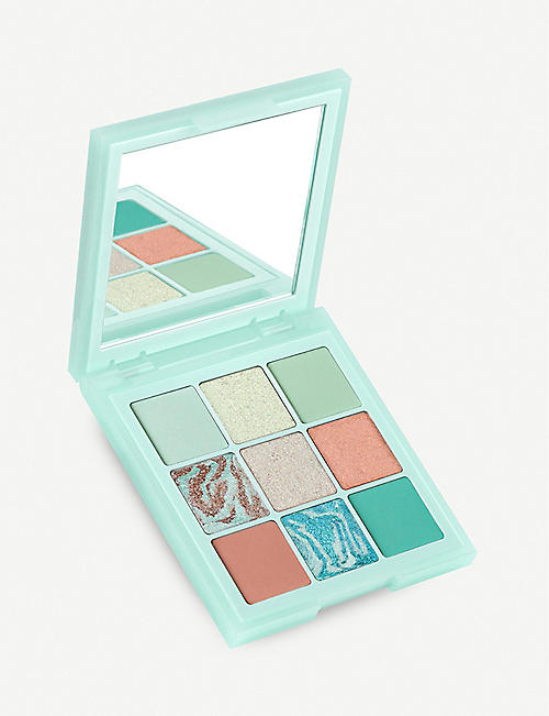 HUDA BEAUTY Limited Edition Pastel Obsessions Mint eyeshadow palette 10g