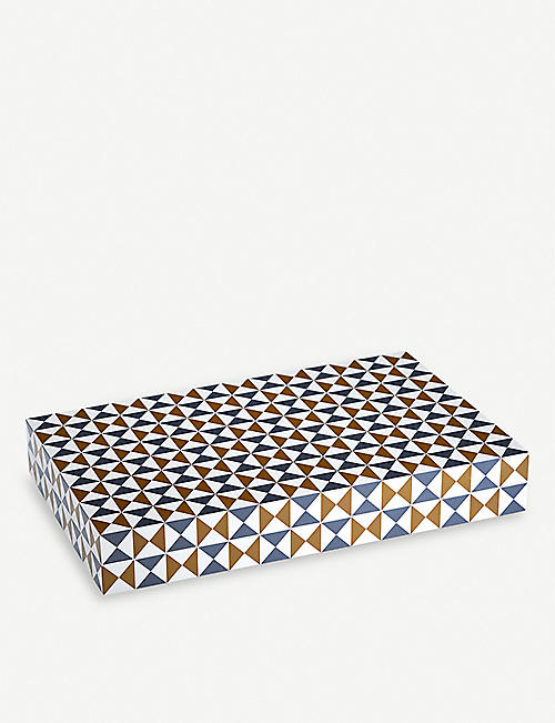 JONATHAN ADLER Bowtie backgammon set