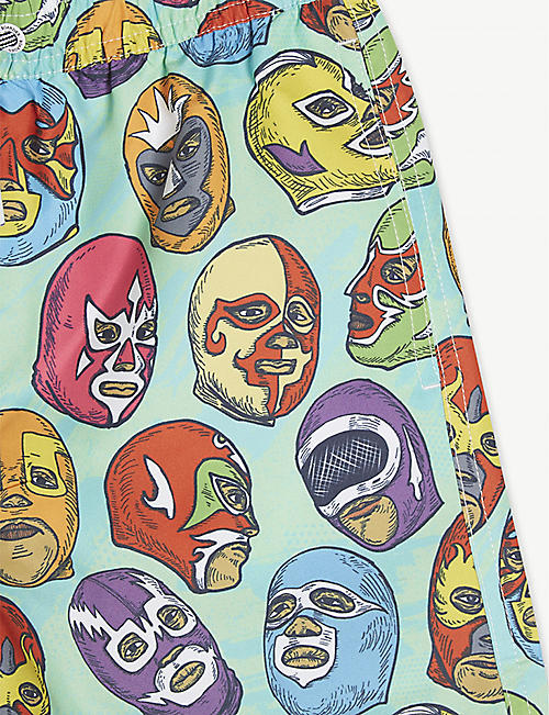 BOARDIES Mexican mask print swim shorts 1-13 years