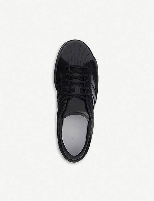 ADIDAS Y-3 Yohji Star canvas and leather trainers