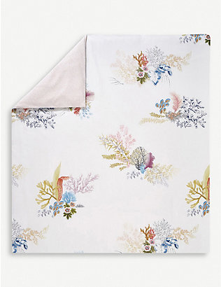 YVES DELORME: Calypso cotton duvet cover