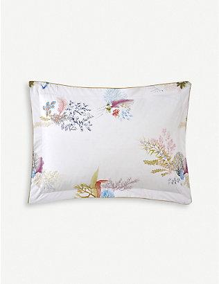 YVES DELORME: Calypso cotton oxford pillowcase 30x40cm