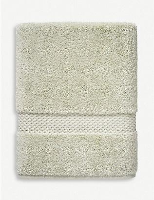 YVES DELORME: étoile cotton-blend bath sheet 92cm x 160cm