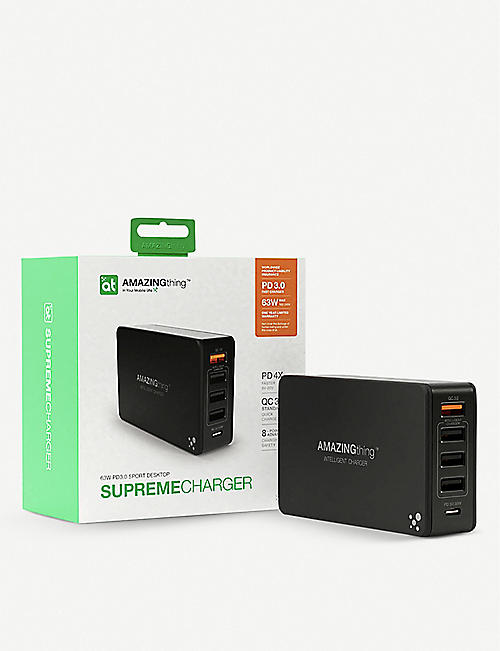 THE TECH BAR AT SupremeCharger five-port charger