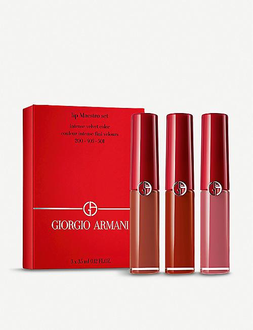 GIORGIO ARMANI Lip Maestro Set 3 x 3.5ml