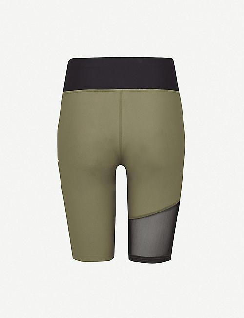 PUMA Evide high-waist stretch-jersey shorts