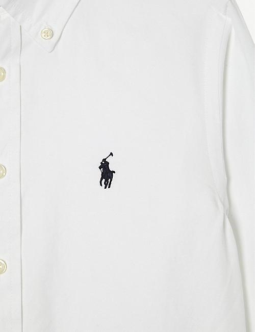 RALPH LAUREN Custom fit long-sleeve shirt 10-12 years