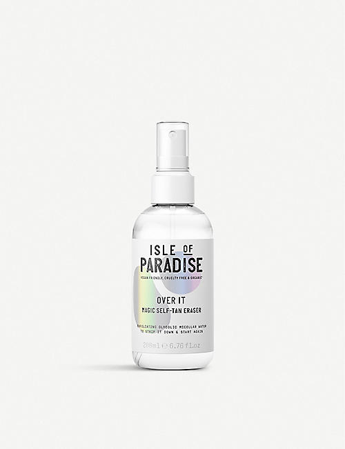 ISLE OF PARADISE Over It self-tan remover 200ml