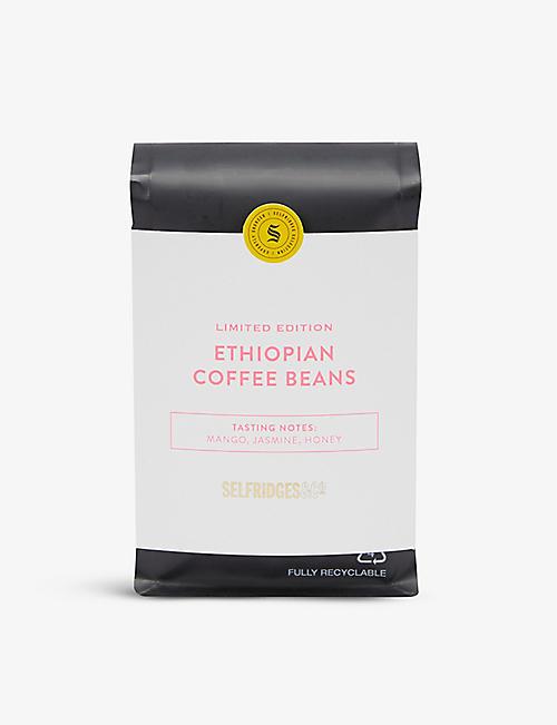 SELFRIDGES SELECTION: Ethiopian whole-bean coffee 250g