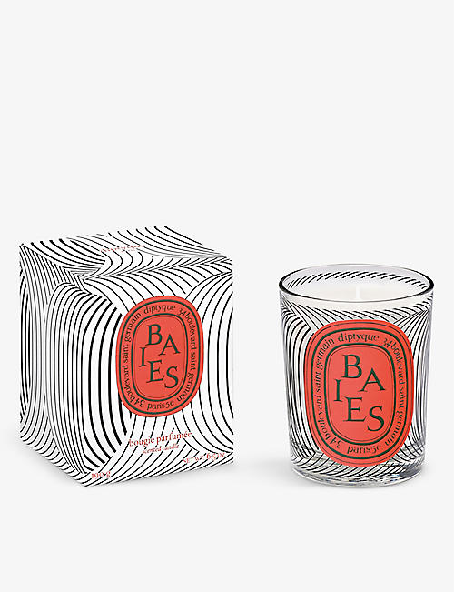 DIPTYQUE: Graphic Collection Limited Edition Baies scented candle 190g