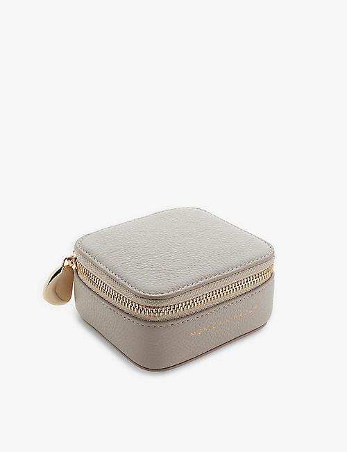 MONICA VINADER: Leather trinket box