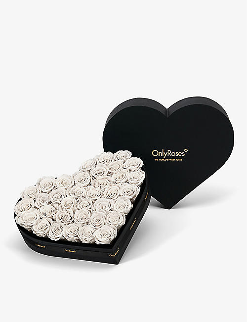 ONLY ROSES: Infinite Heart Pure rose small gift box
