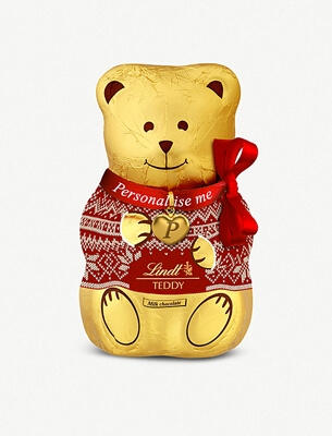 Lindt chocolate teddy