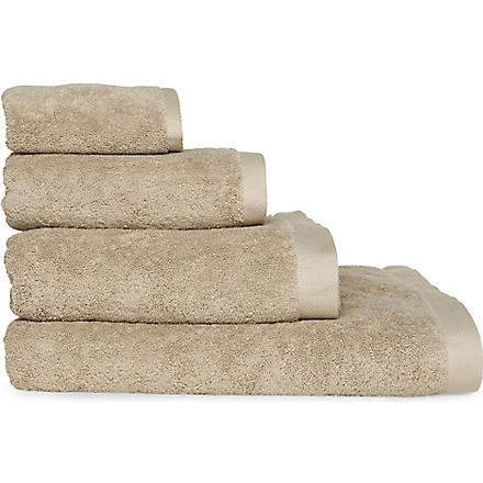 SELFRIDGES Stone towels