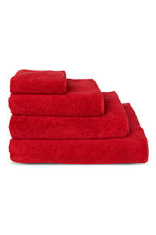 SELFRIDGES Red towels